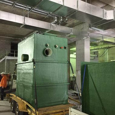 Aglass Fabrication Customised Rectangular Pump Station