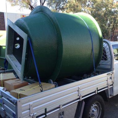 Aglass Fabrication Pump Station - CRG Plumbing Bankstown